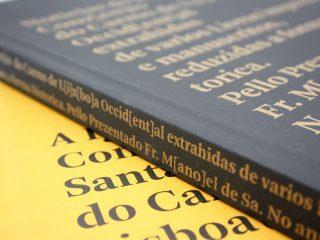 Colecção de livros Convento Santa Maria do Carmo